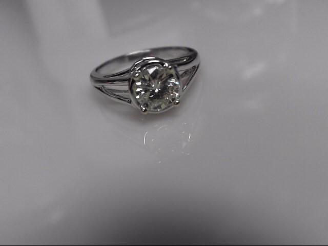 Semi Mount Setting Only 18 Diamonds .78 Carat T.W. 14K White Gold 5g