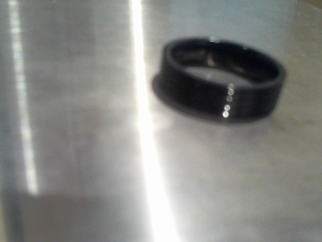 Gent's Wedding Band Black Titanium 3.2g
