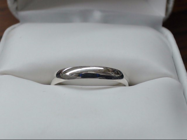 Lady's Silver Wedding Band 925 Silver 1.3g Size:7