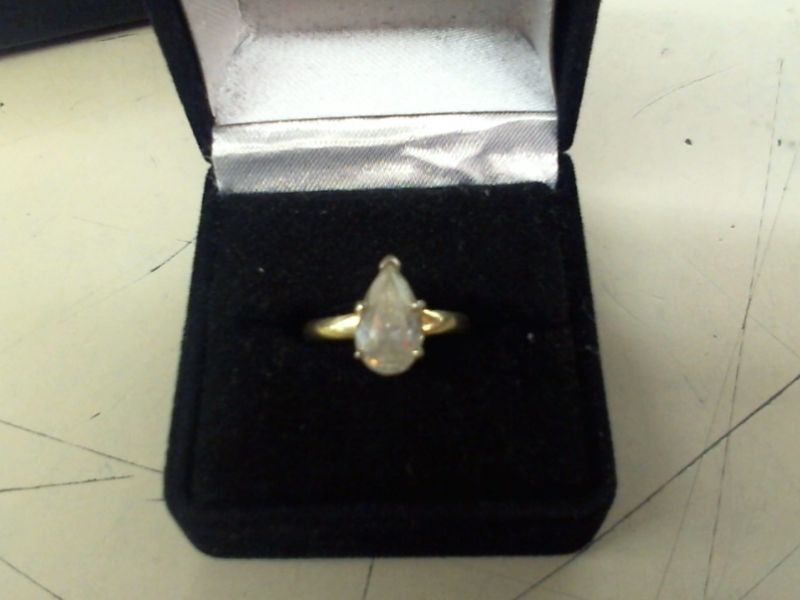 Lady's Diamond Solitaire Ring 2.00 CT. 14K Yellow Gold 4.6g