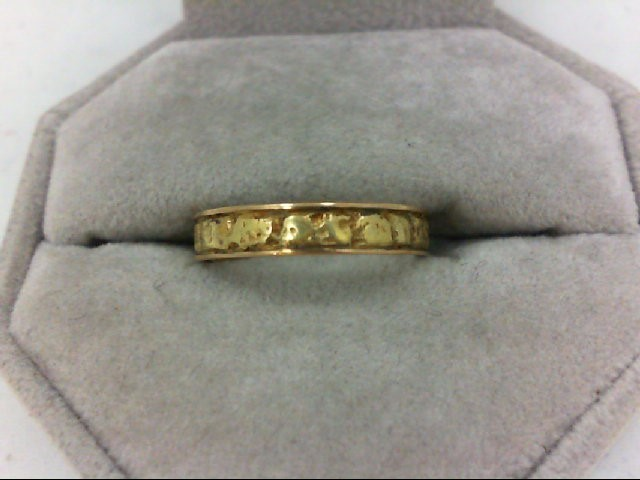 Lady's Gold Ring 14K Yellow Gold 3.5g Size:6.5