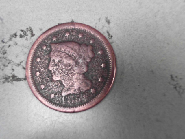 UNITED STATES Coin 1851 LARGE CENT