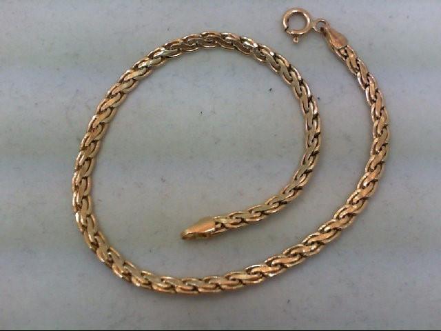 Gold Bracelet 14K Yellow Gold 2.75g