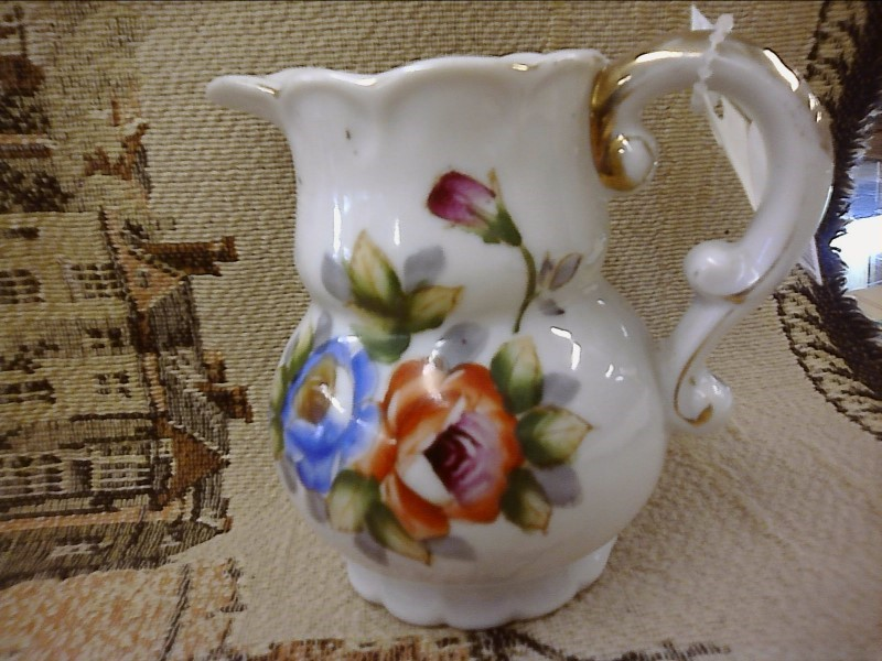 MISC HOUSEHOLD MISC USED MERCH MISC USED MERCH; JAPAN SMALL PITCHER WITH FLOWER