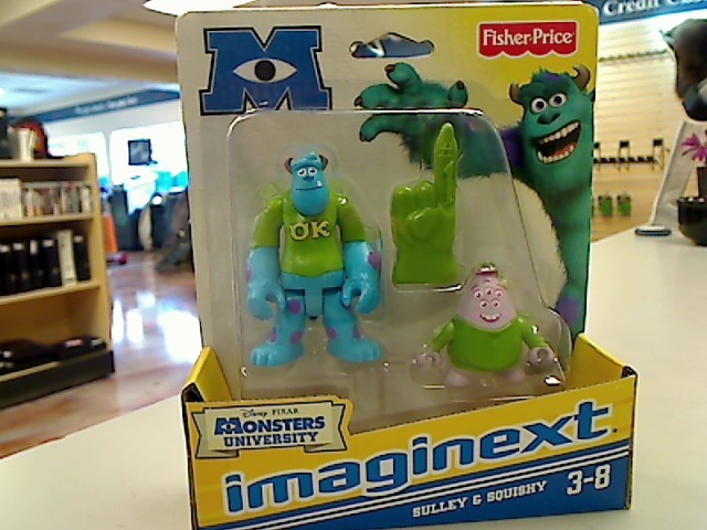 FISHER PRICE Toy MONSTERS U SCULLY