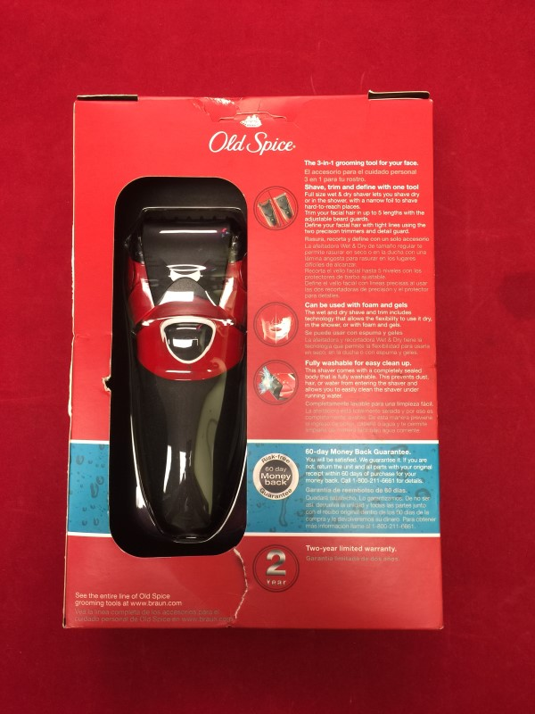 BRAUN Hair Care/Styling WET DRY SHAVE TRIM TYPE 5730