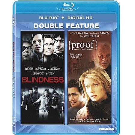 BLU-RAY MOVIE Blu-Ray BLINDNESS AND PROOF