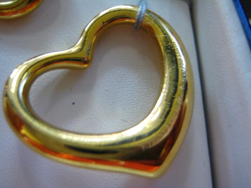 Tiffany & Co. Gold Pendant 18K Yellow Gold 7.93g