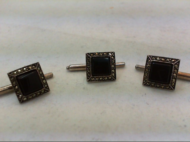 Misc. Costume Jewelry Antique Stainless 7.1g