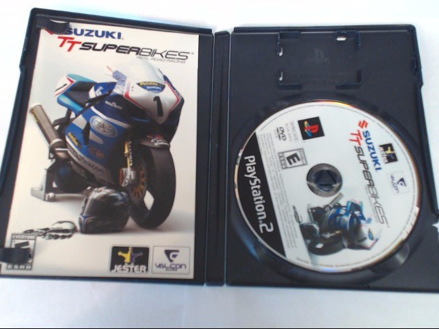 SUZUKI TT SUPERBIKES REAL ROAD RACING SONY PLAYSTATION 2