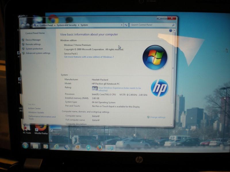 HEWLETT PACKARD PC Laptop/Netbook HP G6 LAPTOP