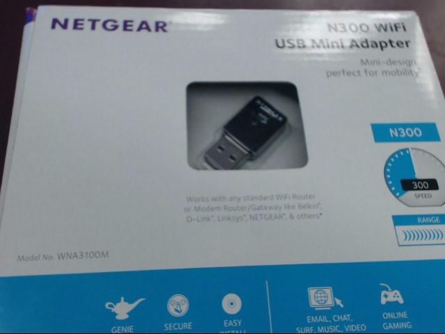 NETGEAR WNA3100M-100ENS N300 WIFI USB MINI ADAPTER