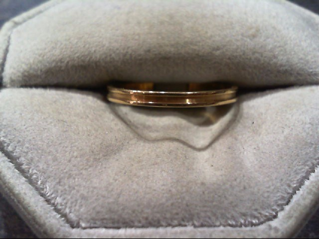 Lady's Gold Wedding Band 14K Yellow Gold 1.2g Size:8
