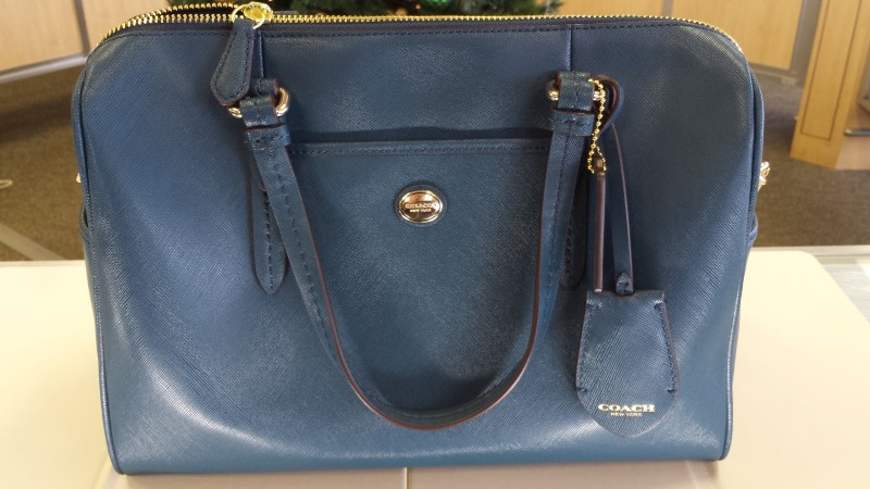 COACH Handbag PEYTON LEATHER NANCY