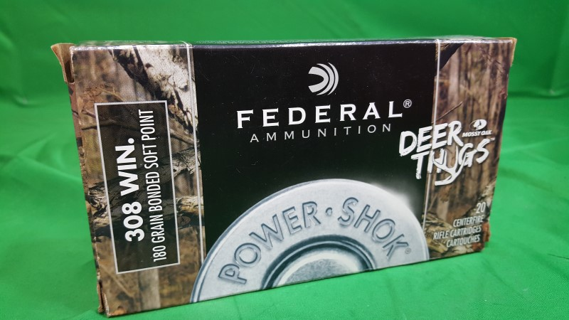 FEDERAL PRODUCTS CORP. Ammunition DT308B