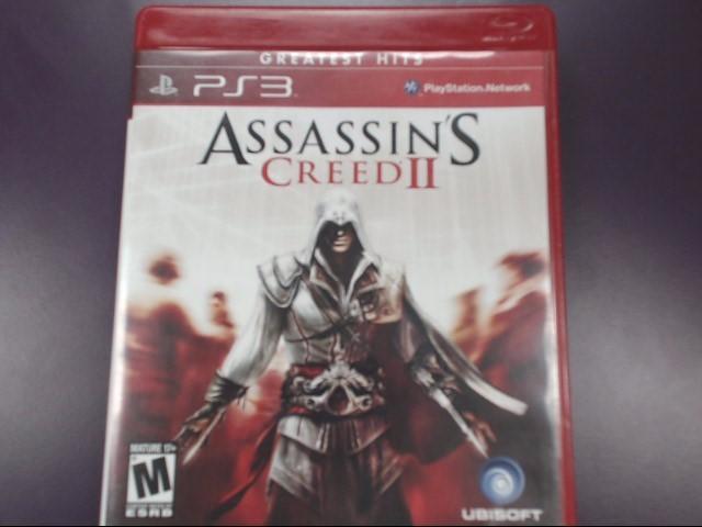 Assassin's Creed II GREATEST HITS (Sony PlayStation 3, 2009)