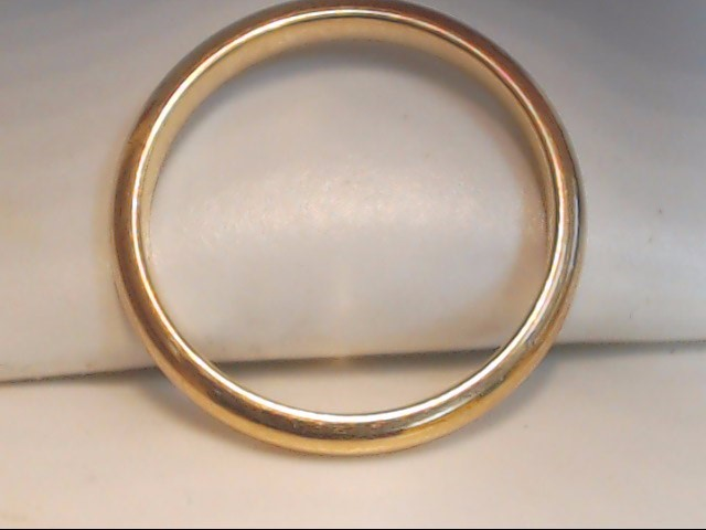 Lady's Gold Wedding Band 14K Yellow Gold 2g Size:5.5