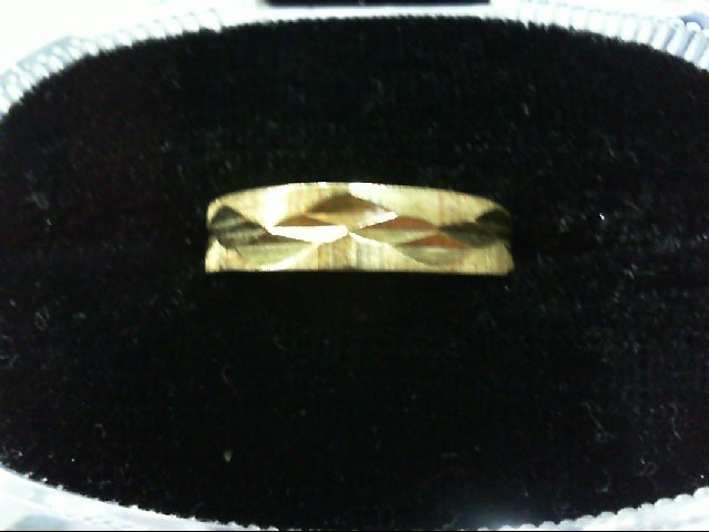 Lady's Gold Ring 10K Yellow Gold 1.3g
