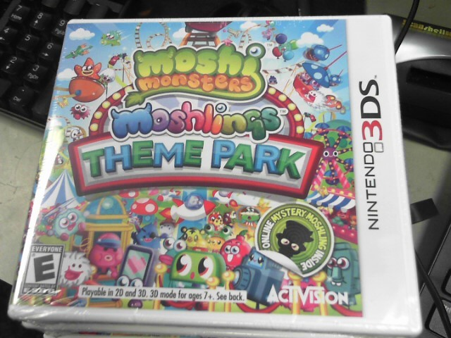 NINTENDO Nintendo 3DS MOSHI MONSTERS MOSHLING THEME PARK