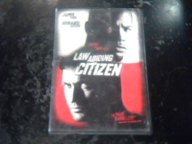 DVD MOVIE DVD LAW ABIDING CITIZEN