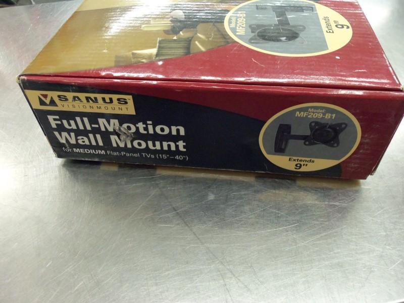 "SANUS TV WALL MOUNT 15""-40"" NEW"
