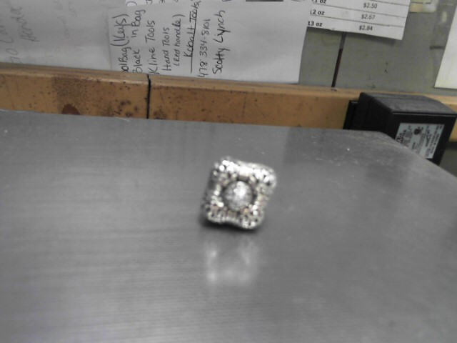 Lady's Silver Ring 925 Silver 9.8g