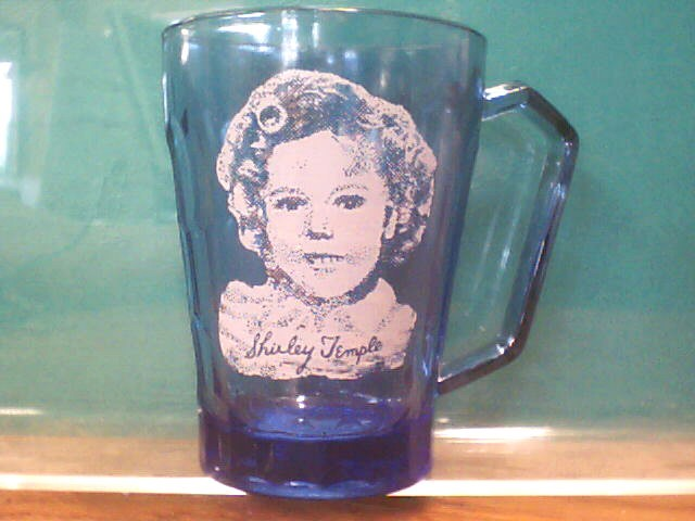 Glass/Pottery SHIRLEY TEMPLE