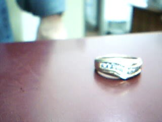 Gent's Gold-Diamond Wedding Band 8 Diamonds .48 Carat T.W. 10K Yellow Gold 3.9g