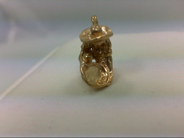 Gold Charm 14K Yellow Gold 2.4g