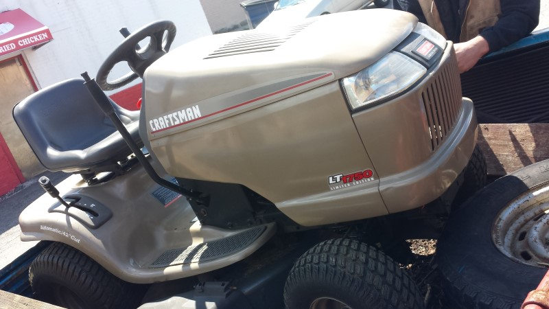 Craftsman Lawn Tractor Lt1750 Very Good Buya