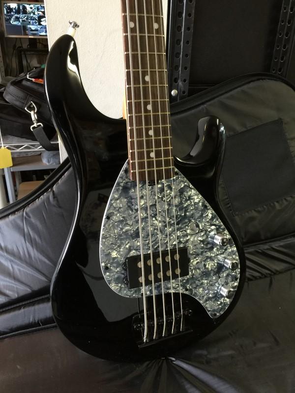 ernie ball olp mm3 5 string electric bass guitar like new buya. Black Bedroom Furniture Sets. Home Design Ideas