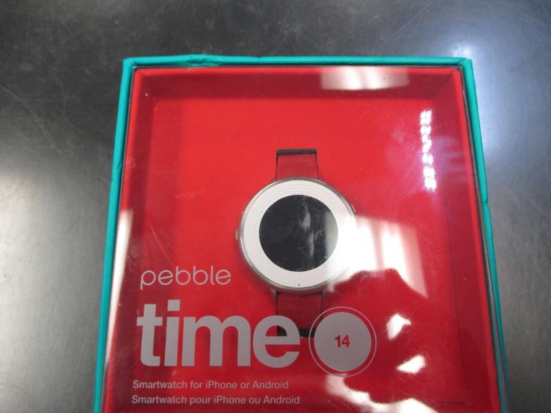 PEBBLE SMART WATCH Gent's Wristwatch TIME 14