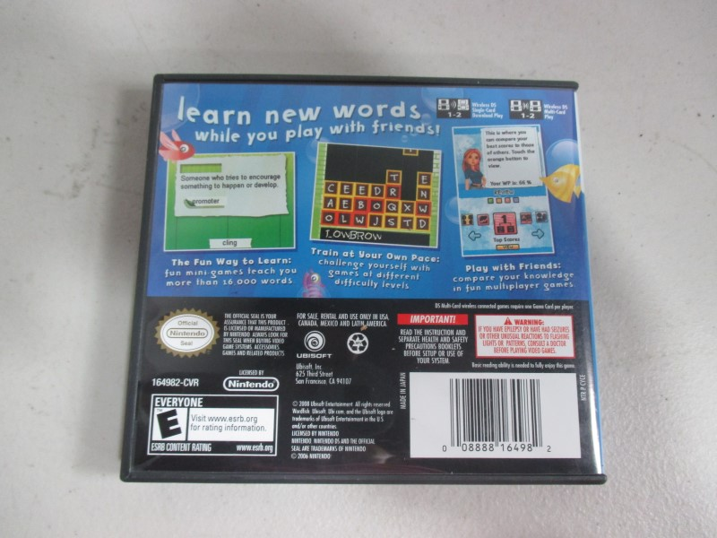 WORD FISH DS GAMES