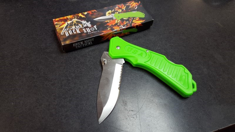 FROST CUTLERY Pocket Knife BUCK SHOT CUTLERY