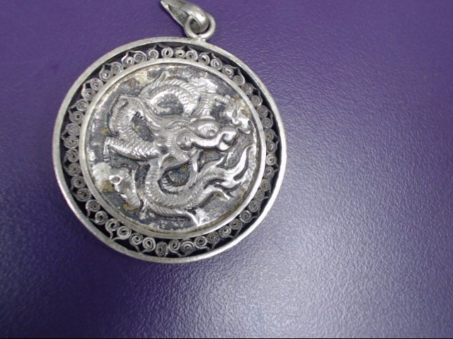Silver Pendant 900 Silver 10.6g