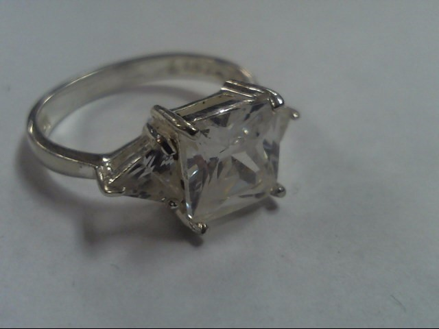Lady's Silver Ring 925 Silver 3.5g Size:7