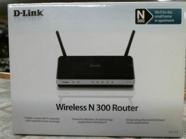 D-LINK Modem/Router N300