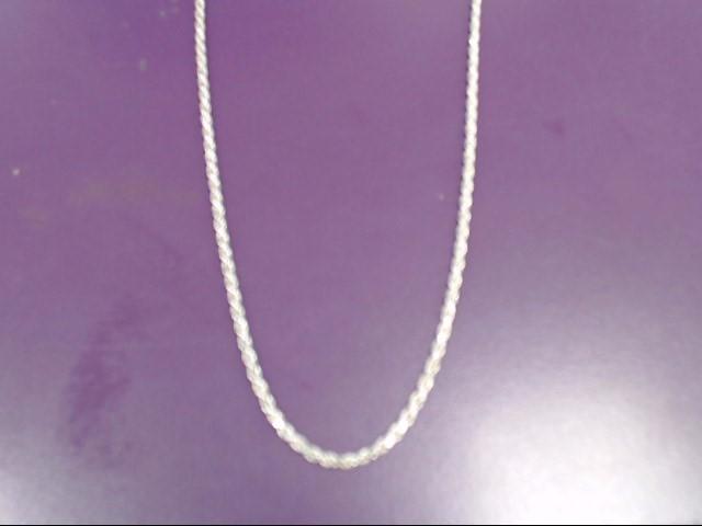 "28"" Silver Chain 900 Silver 14.2g"