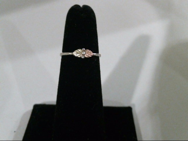 Lady's Silver Ring 925 Silver 1.1g