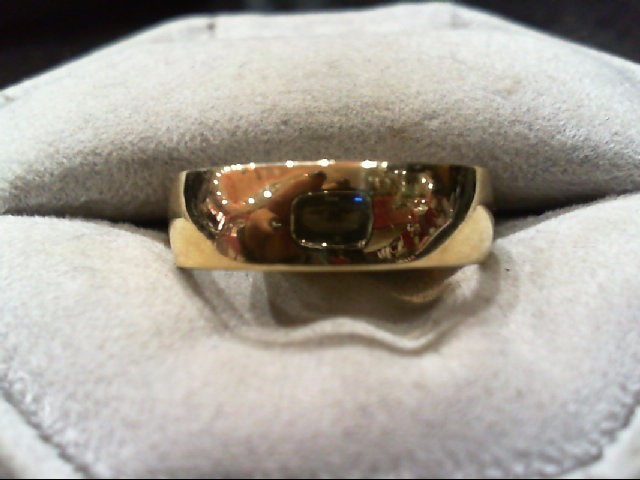 Gent's Gold Wedding Band 14K Yellow Gold 4.4g Size:8.8
