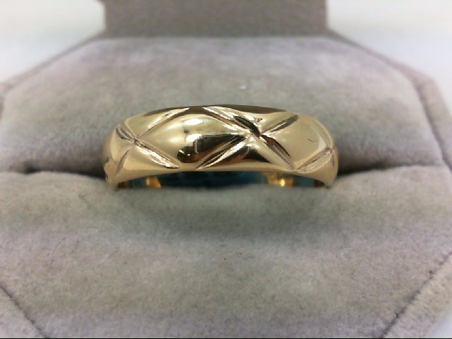 Gent's Gold Ring 14K Yellow Gold 6.6g Size:11