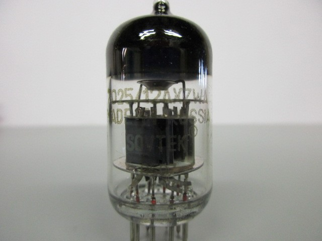 FIVE (5) SOVTEK 7025/12AX7WA PRE-AMP TUBES
