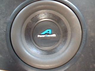 "POWER ACOUSTIK Speakers/Subwoofer 10"" SUB"