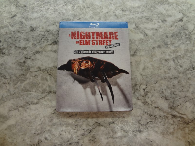 BLU-RAY MOVIE A NIGHTMARE ON ELM STREET COLLECTION
