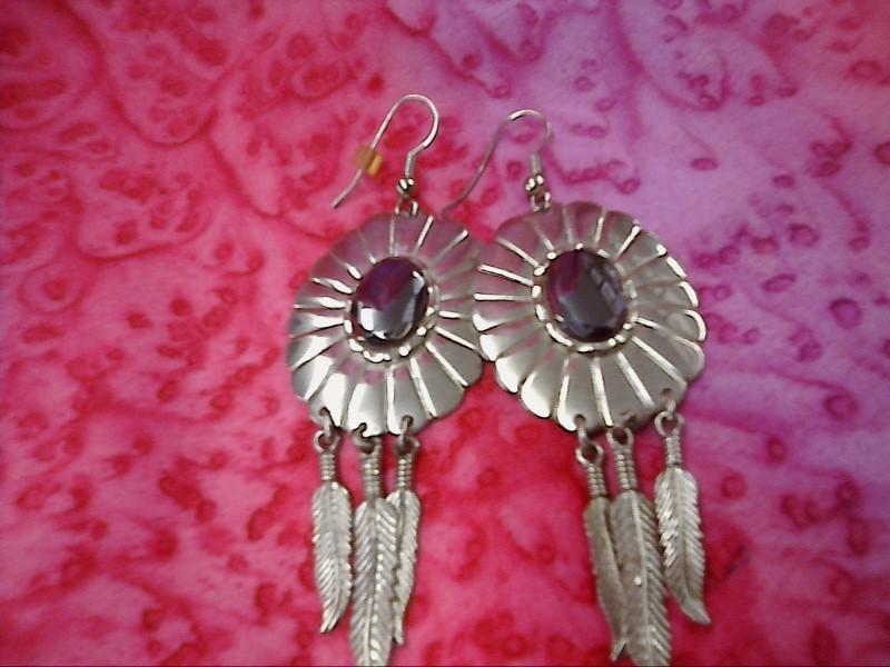 Silver Earrings 925 Silver 10.83dwt