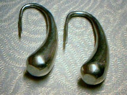 Silver Earrings 925 Silver 4.67dwt