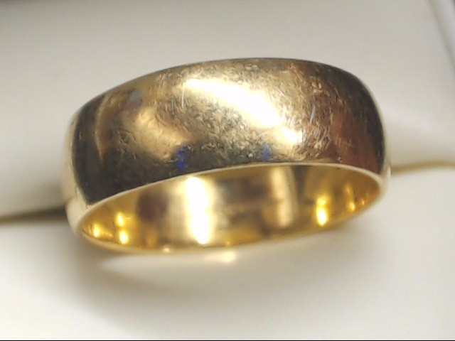 Lady's Gold Wedding Band 14K Yellow Gold 4.3g Size:7