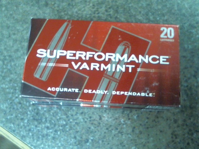 HORNADY Ammunition SUPERFORMANCE VARMINT