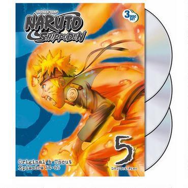 DVD BOX SET DVD NARUTO 5 UNCUT BOX SET