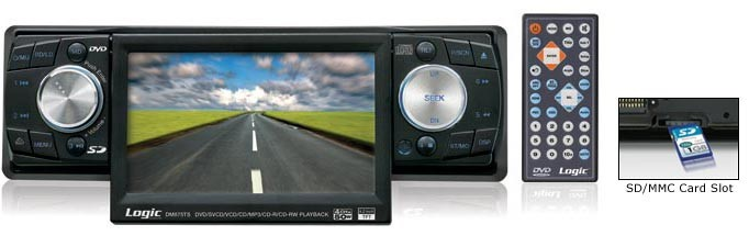 M&M DM875TS; LOGIC 4.2 DVD, CD, MP3 RECEIVER WITH TOUCH SCREEN